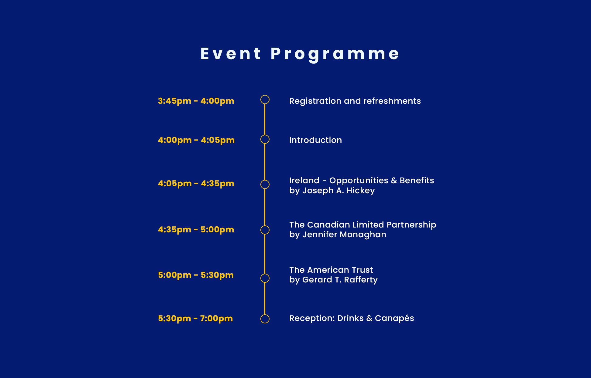 Event-Programme