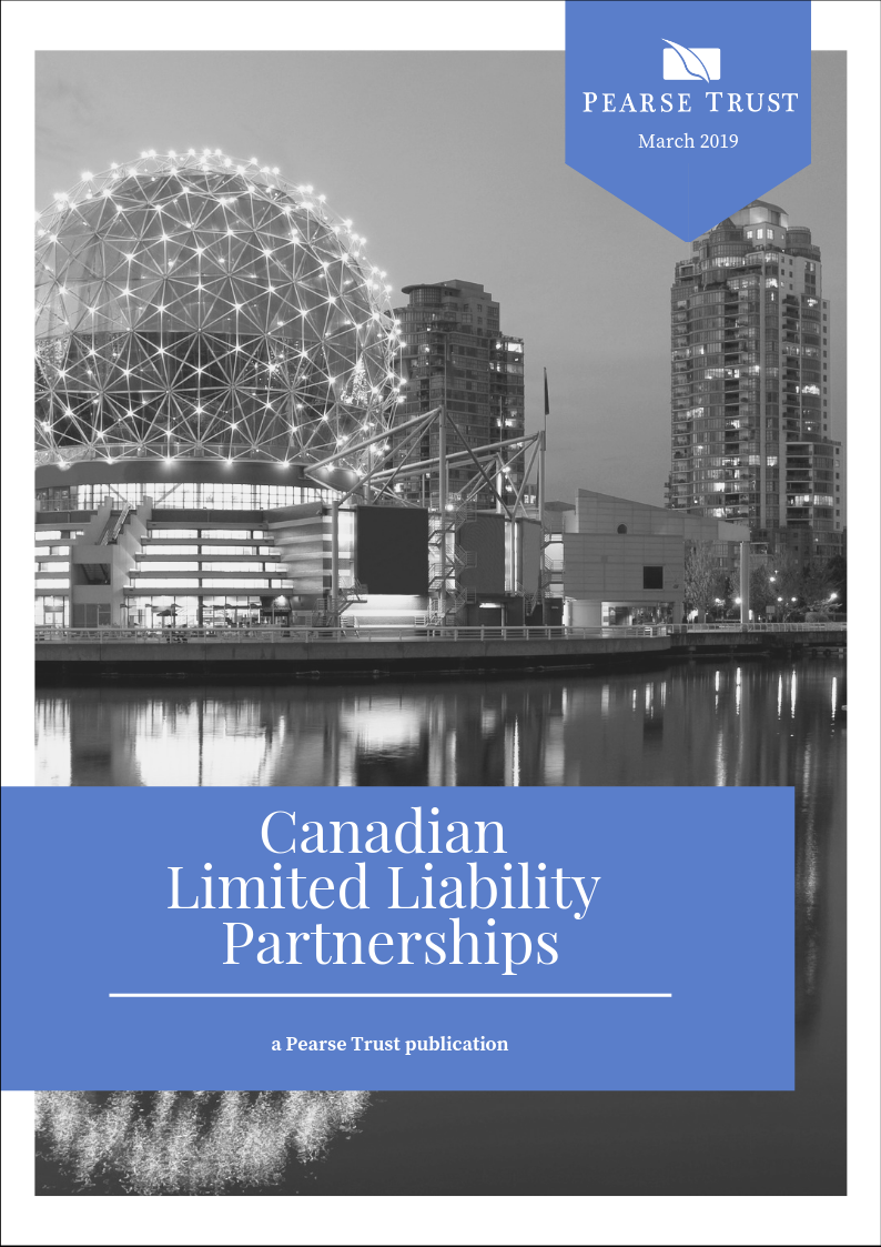Canadian Limited Liability Partnership Whitepaper