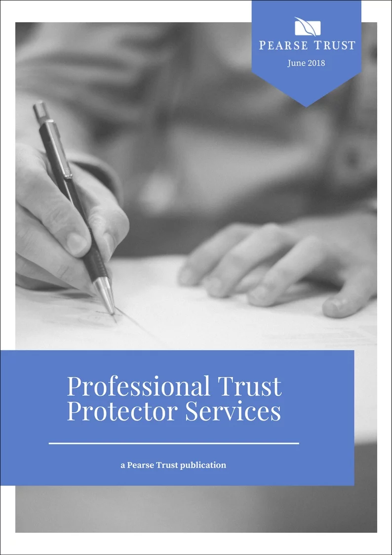 Professional Trust Protector Services
